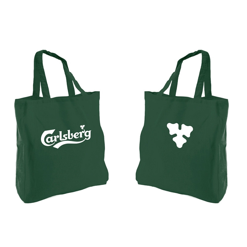 Shoppingbag With Carlsberg Logo