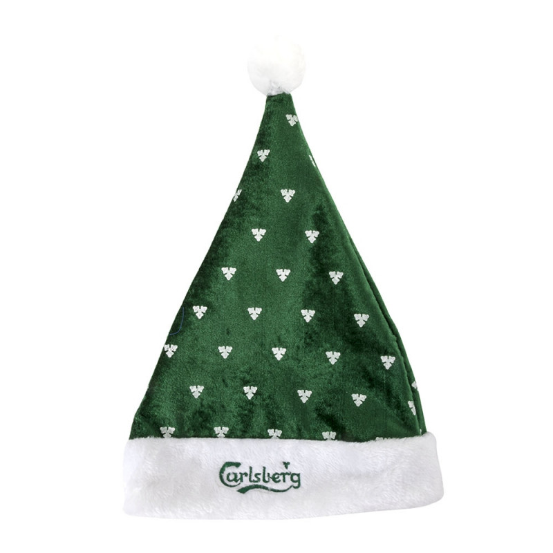 Carlsberg Christmas Hat With Hop Leafs