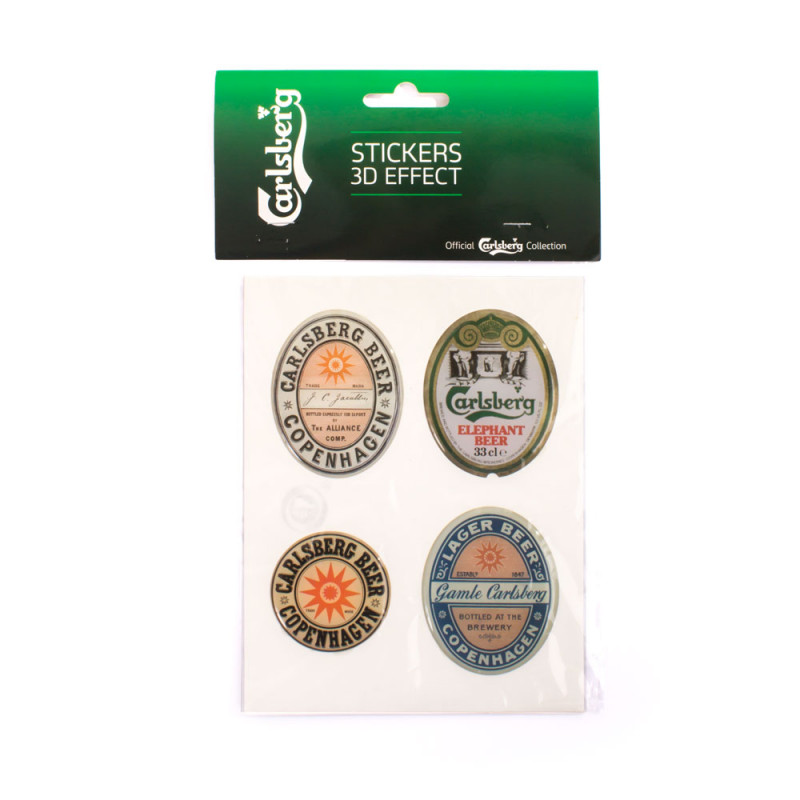 Carlsberg 3D Stickers