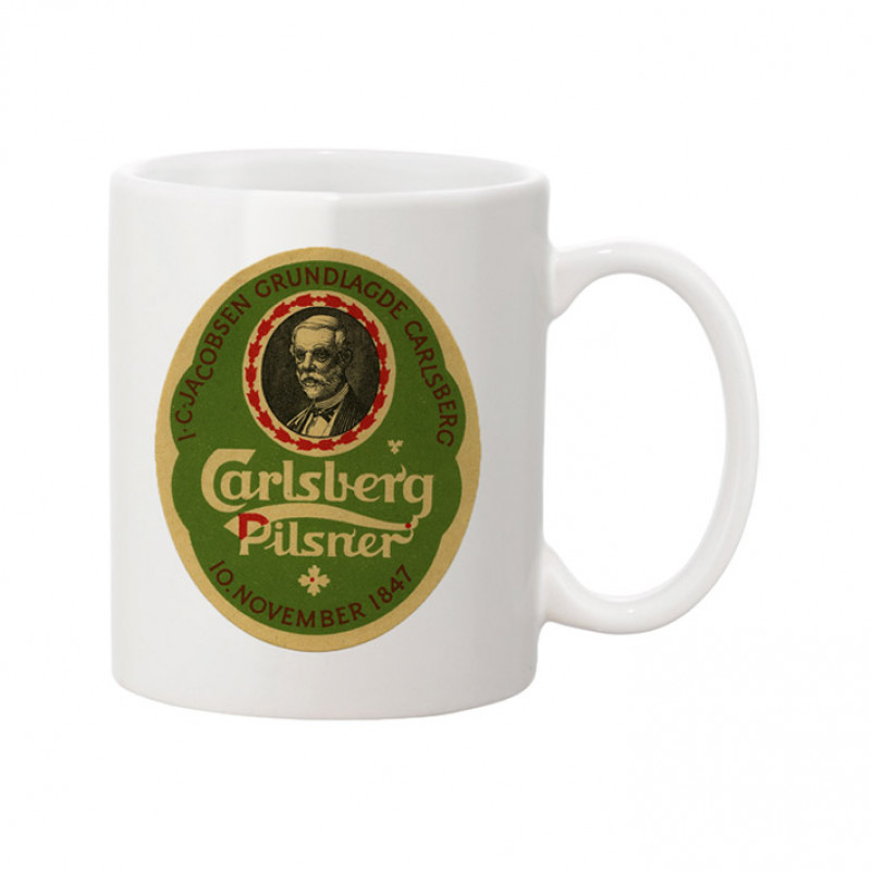 Carlsberg Coffee Mug J.C Jacobsen
