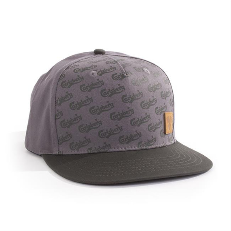 Carlsberg Light Grey Snapback