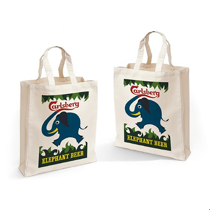 Shoppingbag With Elephant Beer Logo
