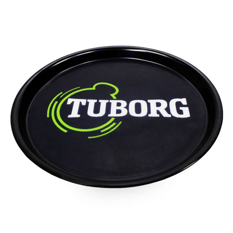 Tuborg Black Serving Tray
