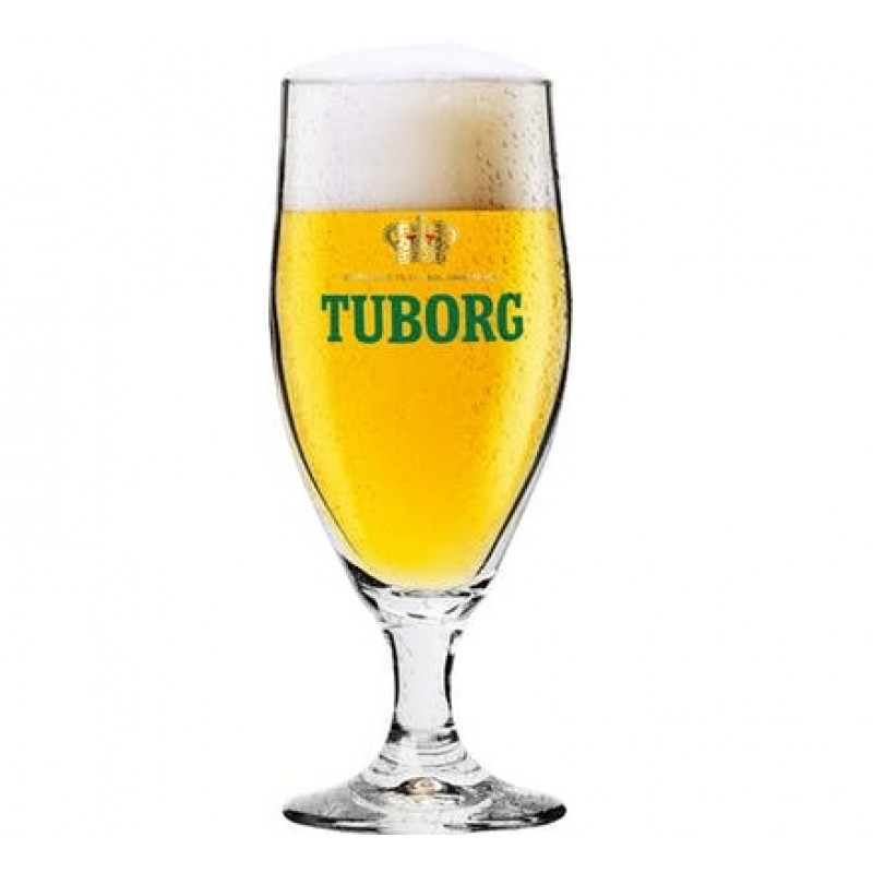 Tuborg Stilk Glasses 75 cl.