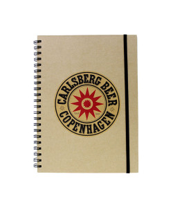 Carlsberg A4 Notebook