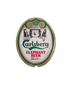 Carlsberg Elephant Beer Tin Sign
