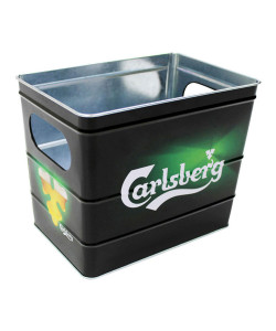 Carlsberg Metal Ice Bucket