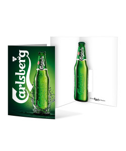 Carlsberg Pop Up Card
