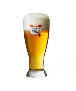 Kronenbourg Glasses 25 cl.