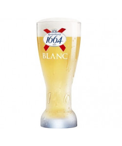 Kronenbourg Blanc Glasses 25 cl.