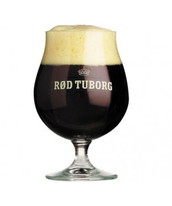"""Rød Tuborg"" Glasses 25 cl."
