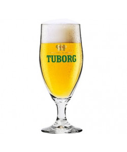 Tuborg Stilk Glasses 25 cl.
